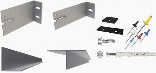 aliuminio karkasas