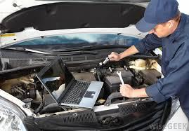 Automobilių remontas ir automobilių diagnostikos įranga