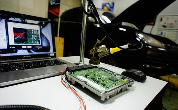 chip tuning įranga