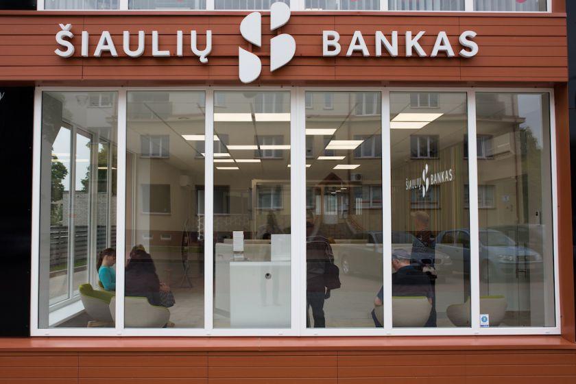 Šiaulių bankas šiemet į klientų aptarnavimo skyrių atnaujinimą investavo virš 2 mln. eurų