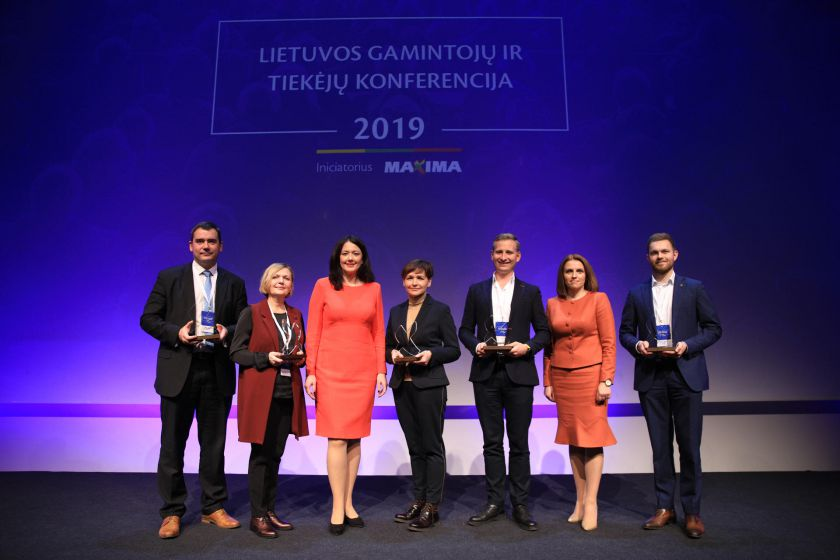 Apdovanoti veržliausi ir išradingiausi Lietuvos gamintojai