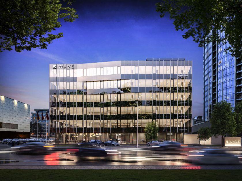 """Bankas """"Swedbank"""" išsinuomojo ketvirtadalį """"M.M.M projektų"""" plėtojamo verslo centro """"WAVE"""""""