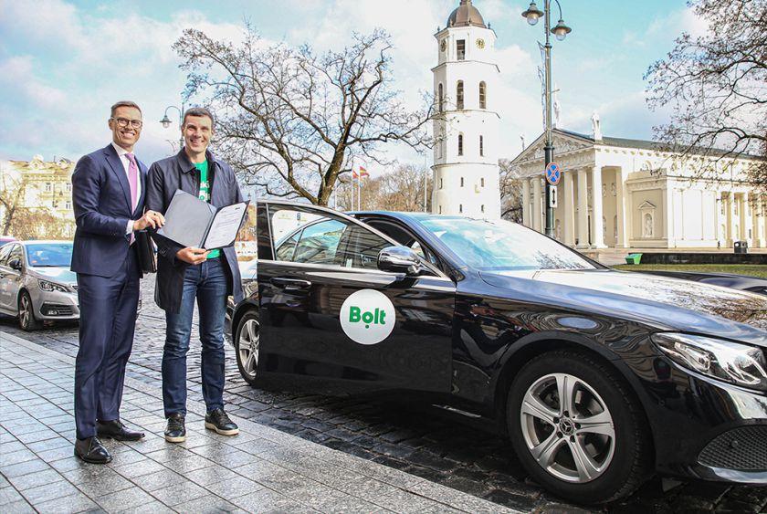 """ES suteikė Estijos pavėžėjimo paslaugų platformai """"Bolt"""" 50 mln. Eur vertės kreditą"""