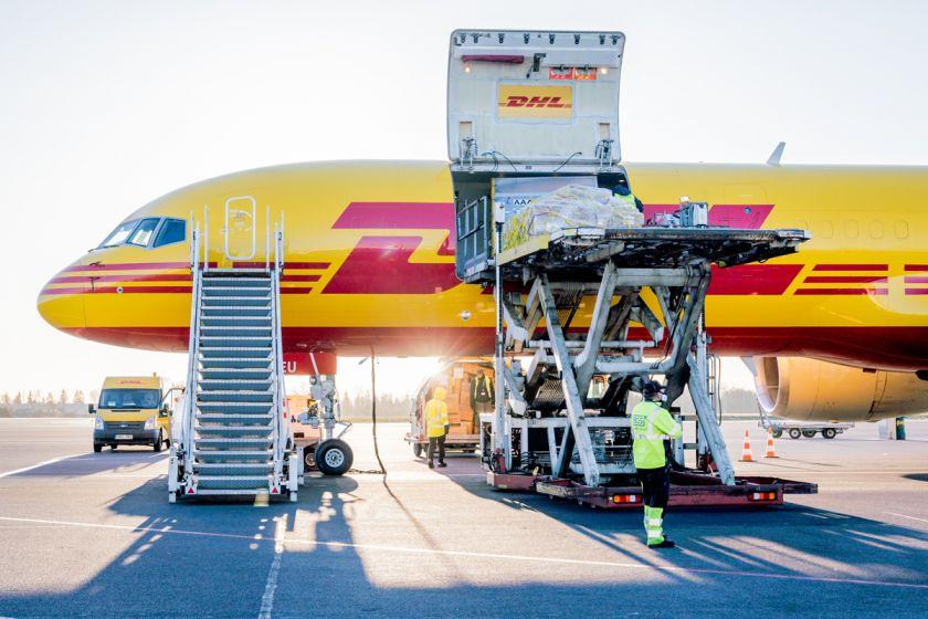 Gabenamų krovinių skaičius pirmąjį metų ketvirtį Lietuvos oro uostuose šoktelėjo aukštyn