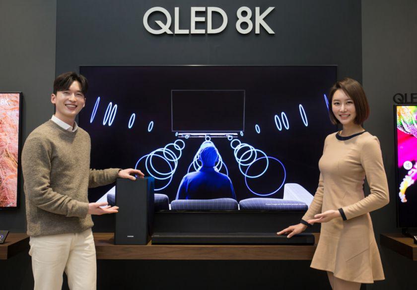 """""""Samsung"""" toliau išlieka lyderiu televizorių ir namų kino garso sistemų rinkoje"""