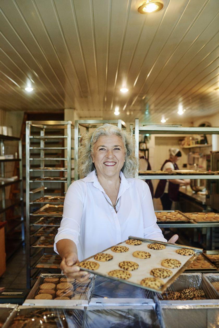 Architektė savo verslą pastatė iš sausainių ir pyragų