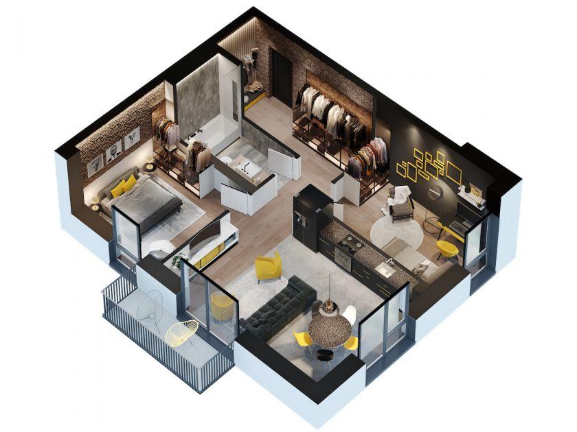 """""""Citus"""" pradeda penktą projektą šiais metais: jaunatviškas """"Link Ten"""" projektas Šnipiškėse su 114 butų"""