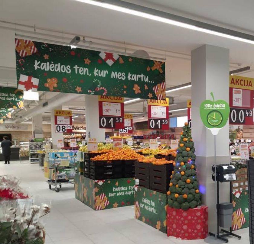 """""""Iki"""" toliau investuoja į renovaciją ir Panevėžio """"Rožyne"""" atidaro atnaujintą parduotuvę"""