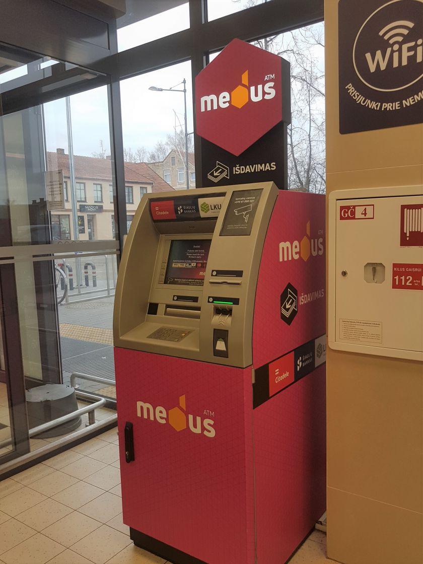 """LKU grupės kredito unijos prisijungė prie nepriklausomo bankomatų tinklo """"Medus"""""""