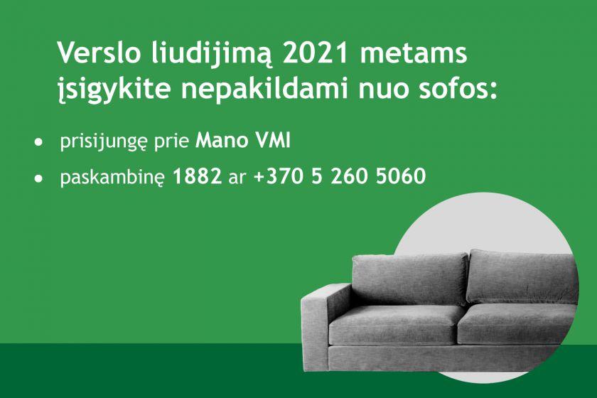 Verslo liudijimą 2021 metams įsigyti šiemet galima anksčiau