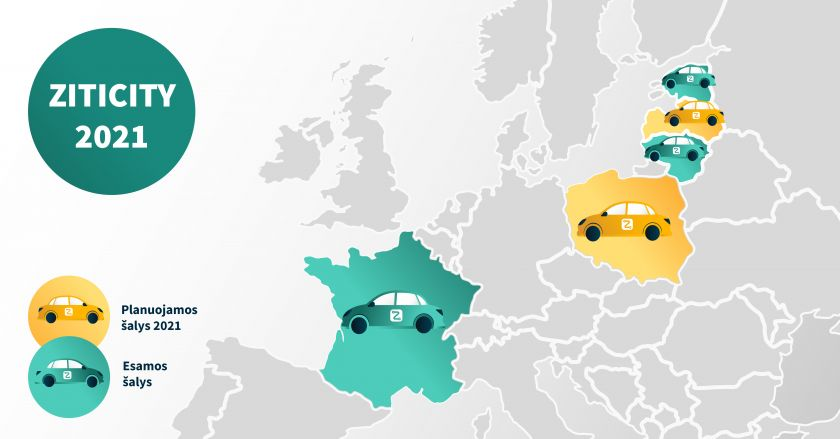 """""""ZITICITY"""" pajamos išaugo 8 kartus, kurjeriams sumokėjo virš 1 mln. eurų"""