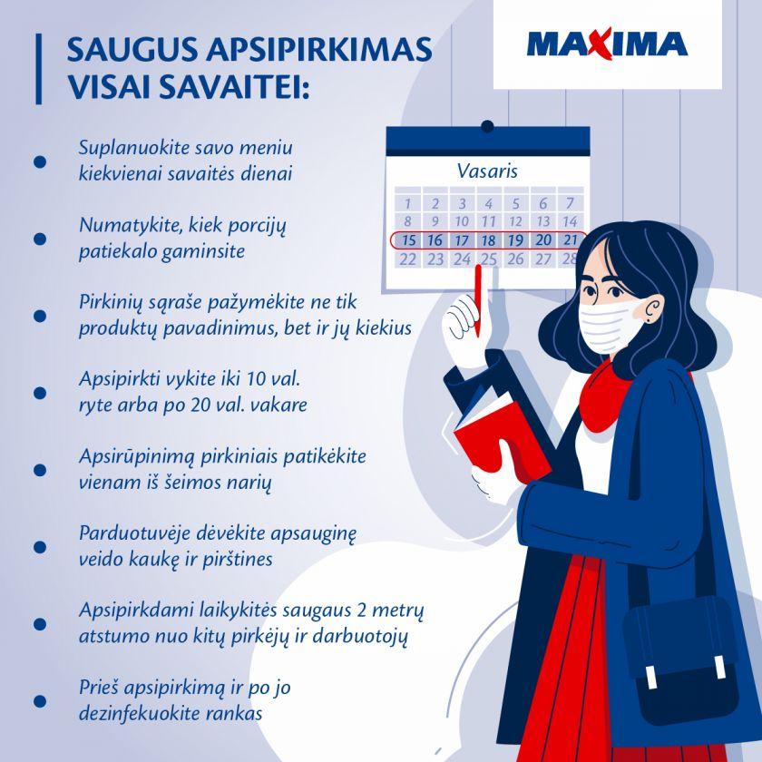 """""""Maxima"""" pataria: kaip planuoti apsipirkimus, kad šeima būtų sotesnė, o piniginė – pilnesnė"""