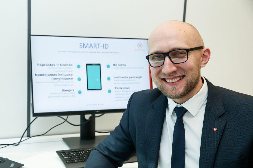 """Daugiau nei pusė interneto vartotojų Lietuvoje naudojasi """"Smart-ID"""" ne tik bankinėms paslaugoms"""