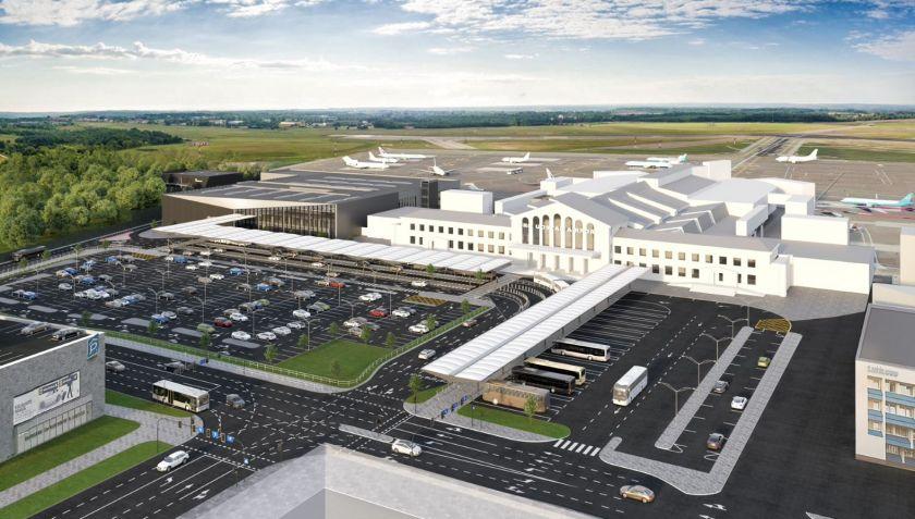 """Lietuvos oro uostai ir """"Mitnija"""" susitarė nutraukti sutartį dėl Vilniaus oro uosto terminalo statybos, bus ieškoma naujo rangovo"""
