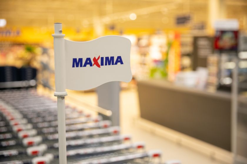 """Vidutinis """"Maximos LT"""" darbuotojų atlyginimas kovą padidėjo dešimtadaliu"""
