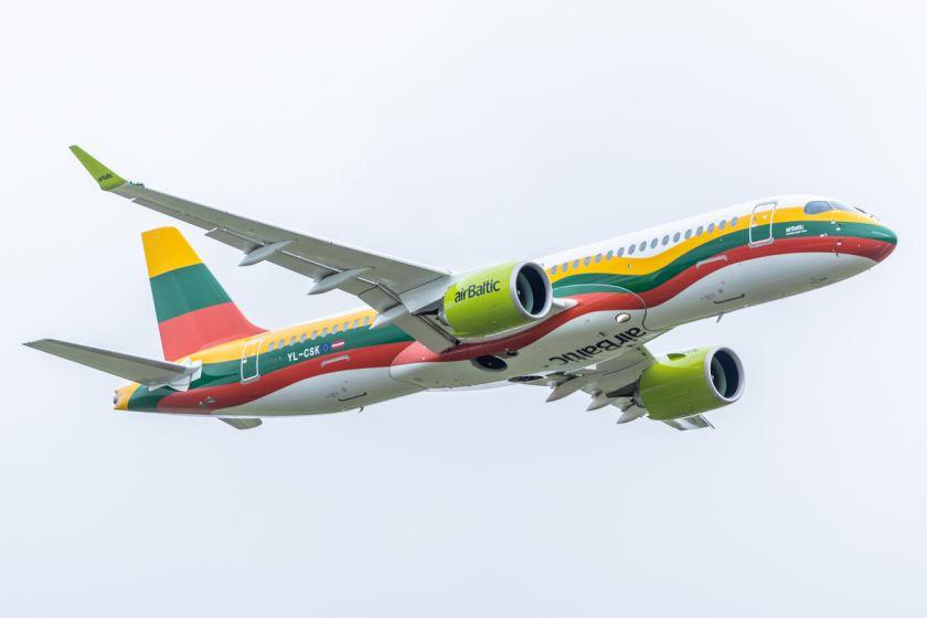 """Per pirmąjį šių metų ketvirtį """"airBaltic"""" perskraidino 18,5 tūkst. Lietuvos keleivių"""