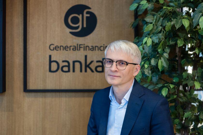 """Paskolų portfelį ir pajamas auginęs """"General Financing bankas"""" toliau stiprina savo pozicijas bankų rinkoje"""