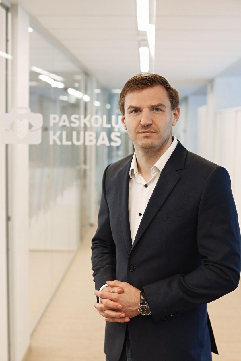 """Tarpusavio skolinimo platforma """"Paskolų klubas"""" tapo NKL čempionato generaliniu rėmėju"""