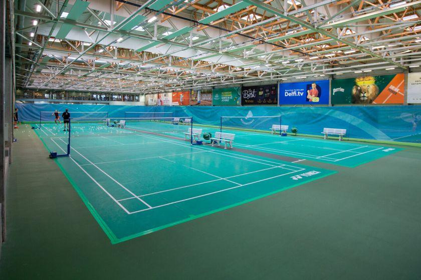 """Prasideda """"SEB arenos"""" rekonstrukcija, po kurios Lietuva turės vieną didžiausių Europoje uždarą teniso areną"""