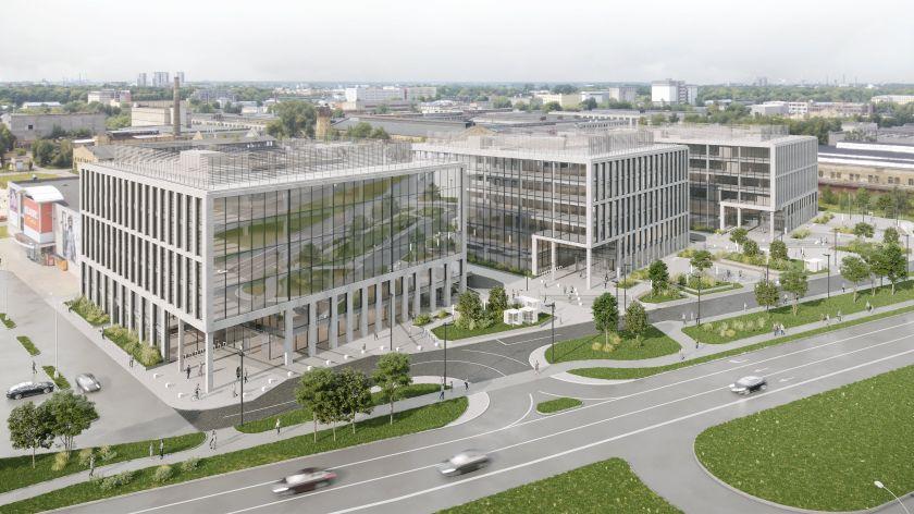 """""""Galio Group"""" pasirašė sutartį su SEB grupės paslaugų centru dėl naujo biuro statybų ir nuomos Rygoje"""