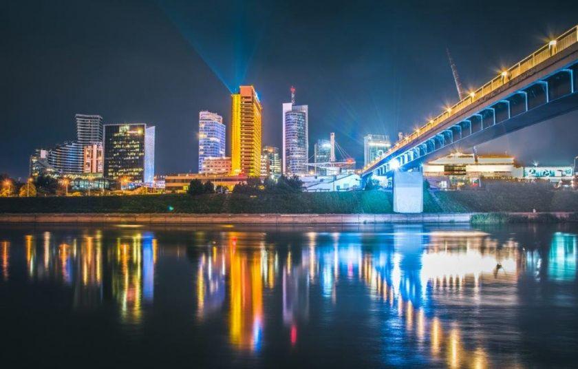 Vilnius atsidūrė tarp 20 perspektyviausių technologinių Europos miestų