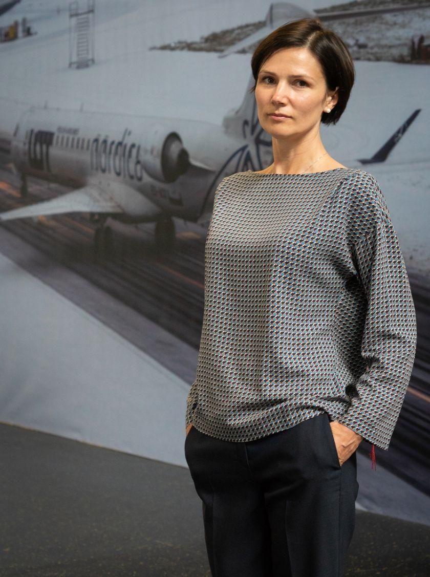 Dėl karjeros pokyčių iš Lietuvos oro uostų vadovybės traukiasi L. Joffė