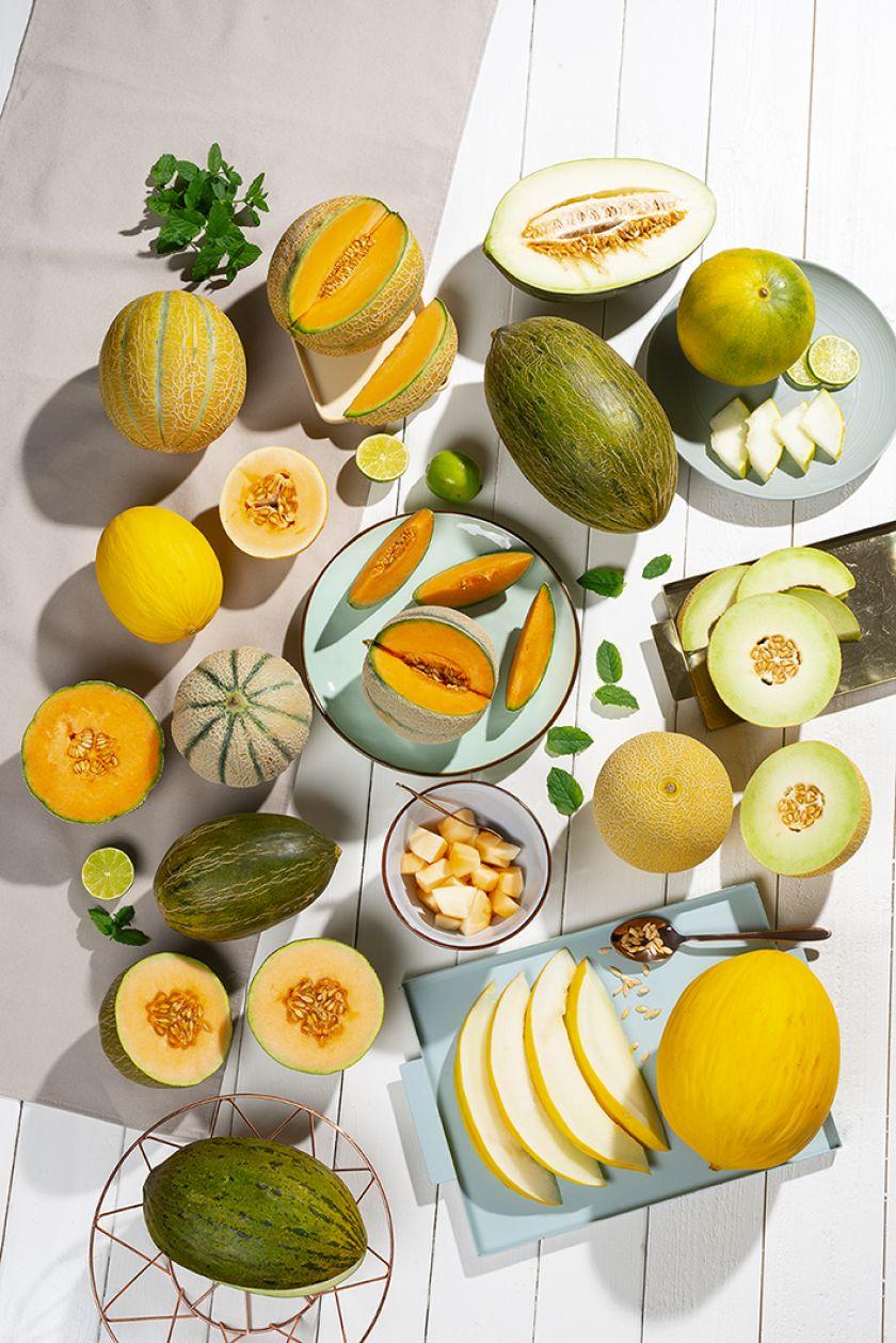 Skirtingos melionų rūšys: kaip išsirinkti?